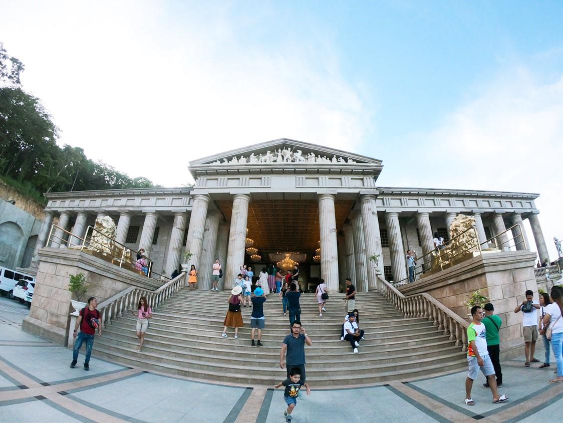 菲律賓遊學很夢幻的希臘風莉亞神殿temple of leah