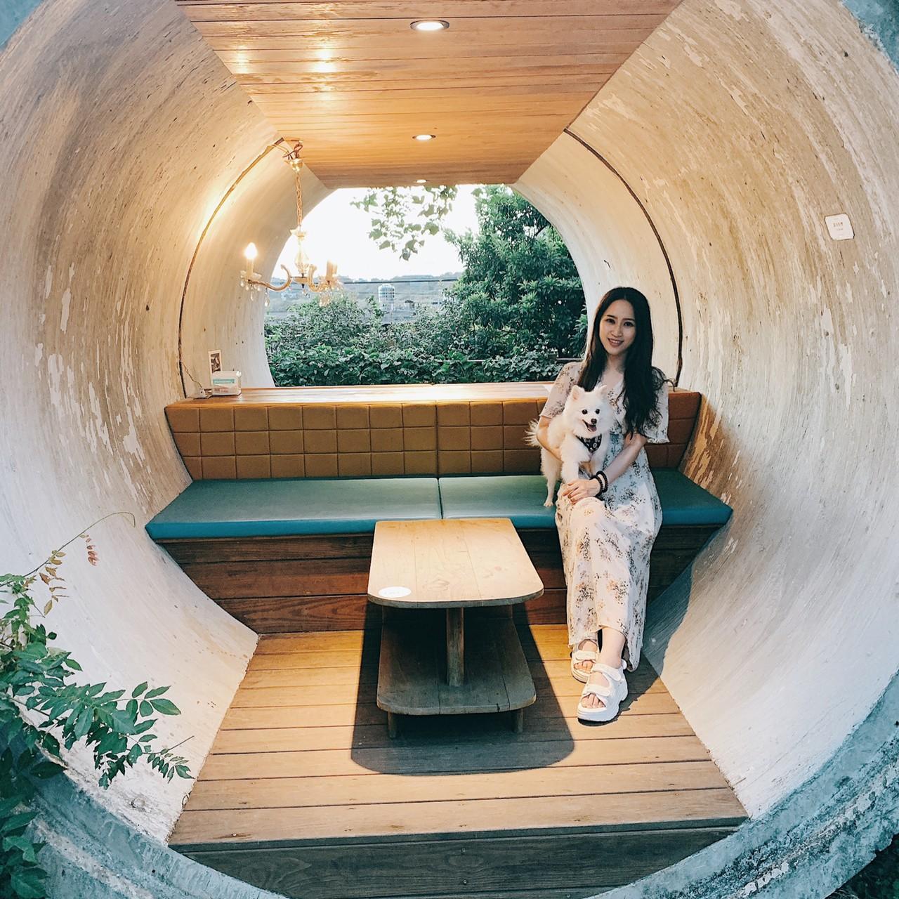 淡水咖啡廳-網美打卡新景點Binma Area 134超美玻璃屋、水管屋