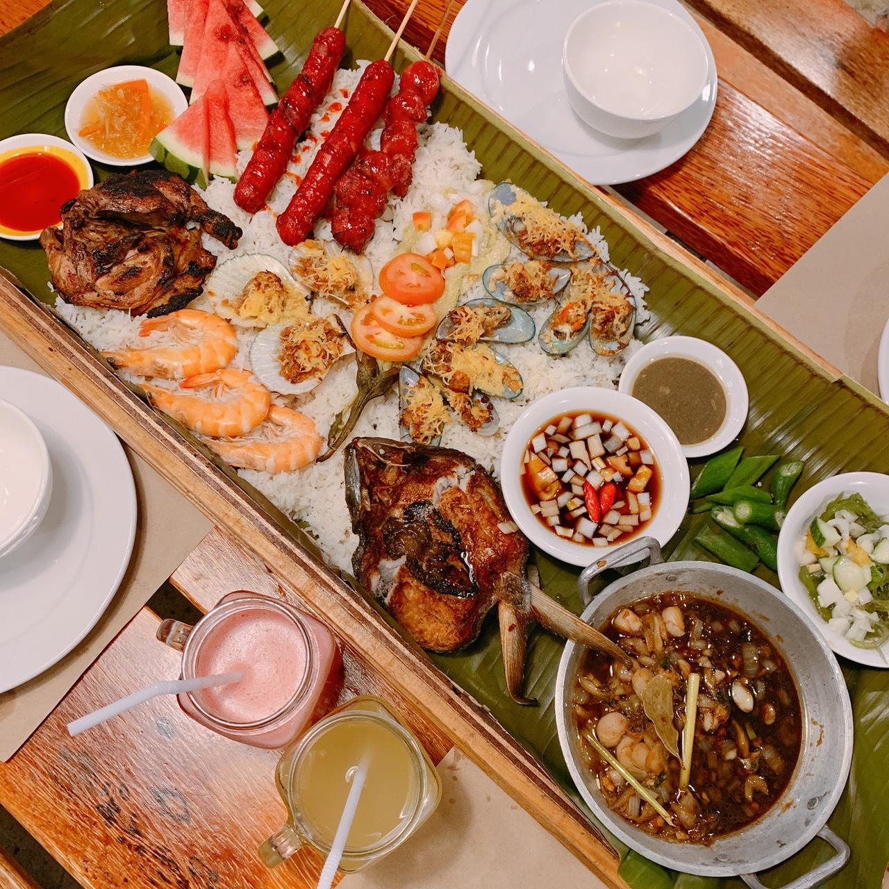 菲律賓賓遊學推薦餐廳-SM購物中心2F  Seafood&Ribs WAREHOUSE 新鮮海鮮美食推薦